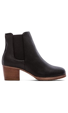 Yosi Samra Liberty Tuscany Leather Boot in Black