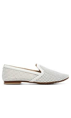 Yosi Samra Preslie Perforated Loafers in White