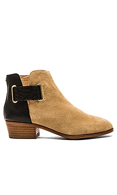 Yosi Samra Drew Bootie in Latte & Black