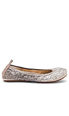 Yosi Samra Serena Flat in Oxidized Silver