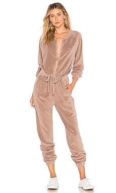 Track Jumpsuit Young, Fabulous & Broke $158 BEST SELLER