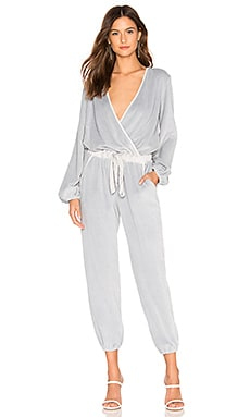 d06cad3e82d Foiley Velour Jumpsuit Young