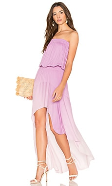Kylie Dress in Pale Purple Ombre Wash
