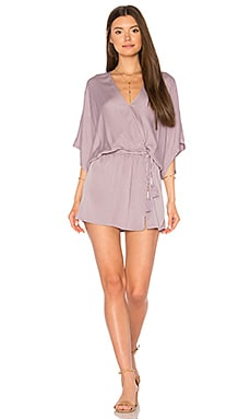 Viv Dress in Orchid Solid