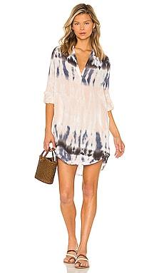 Sammy Shirt Dress Young, Fabulous & Broke $135