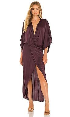 Siren Satin Dress Young, Fabulous & Broke $229