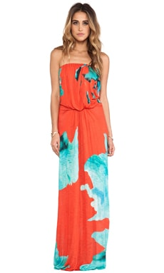 Gautier Maxi in Blue Flower