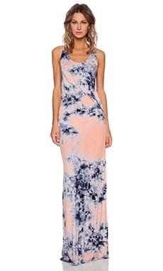 Young, Fabulous & Broke Nono Maxi Dress in Orange Nova Wash