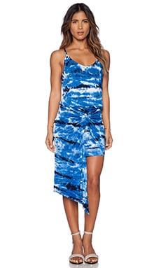 Young, Fabulous & Broke Kulani Dress in Navy & Blue Shorebreak