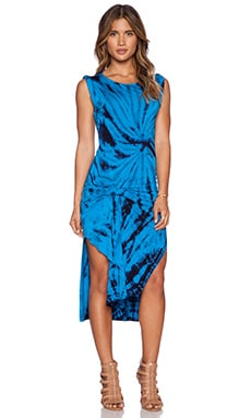 Young, Fabulous & Broke Bryton Dress in Blue Dreamer Wash