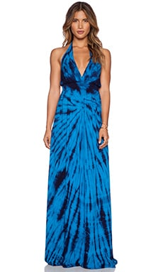 Young, Fabulous & Broke Brooks Maxi Dress in Blue Dreamer Wash