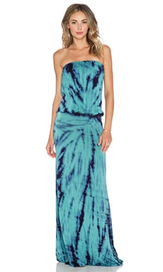 Young, Fabulous & Broke Sydney Maxi Dress in Teal Dreamer