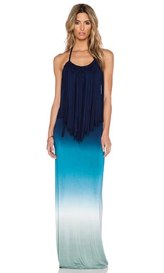 Young, Fabulous & Broke Georgie Maxi Dress in Blue Ombre