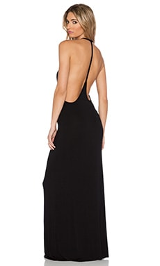 Young, Fabulous & Broke Archer Maxi Dress in Black