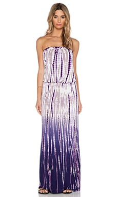 Young, Fabulous & Broke Sydney Maxi Dress in Purple Rain Ombre