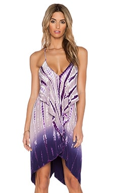 Young, Fabulous & Broke Lora Dress in Purple Rain Ombre