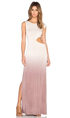 Young, Fabulous & Broke Sia Maxi Dress in Mocha Ombre