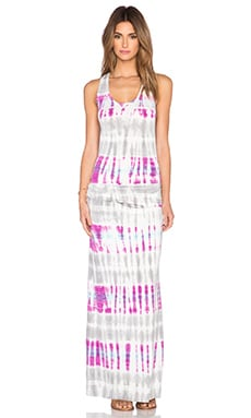 Young, Fabulous & Broke Hamptons Maxi Dress in Orchid Bamboo Wash