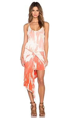 Young, Fabulous & Broke Kulani Dress in Melon Rain Ombre