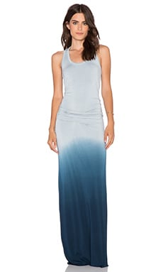 Young, Fabulous & Broke Hamptons Maxi Dress in Cobalt Ombre