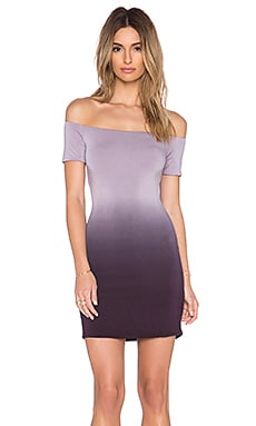 Young, Fabulous & Broke Zoey Dress in Plum Ombre