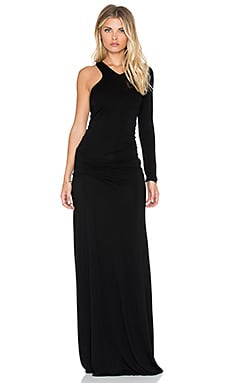 Young, Fabulous & Broke Vinny Maxi Dress in Black