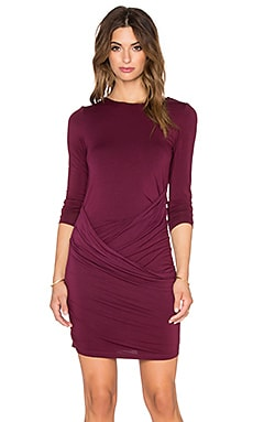 Young, Fabulous & Broke Audrina Dress in Cranberry