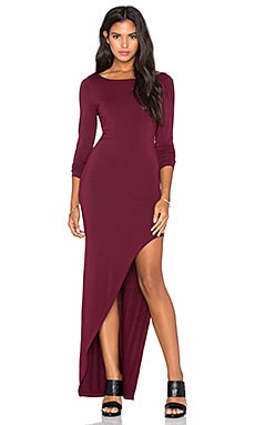 Young, Fabulous & Broke Krystal Maxi Dress in Cranberry