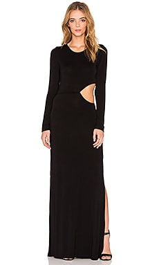 Young, Fabulous & Broke Brooklyn Maxi Dress in Black