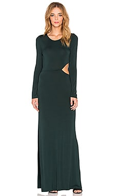 Young, Fabulous & Broke Brooklyn Maxi Dress in Hunter