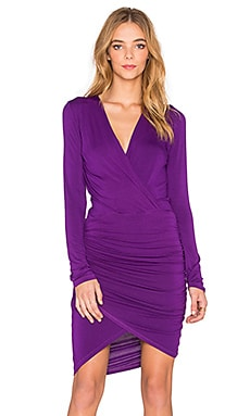 Young, Fabulous & Broke Babe Dress in Amethyst