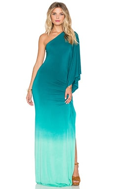 Young, Fabulous & Broke Kara Maxi Dress in Caribe Ombre