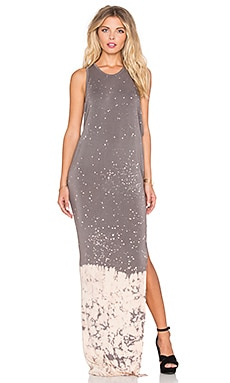 Young, Fabulous & Broke Samantha Maxi Dress in Portabello Splatter Wash