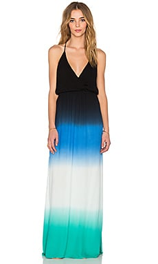 Nala Maxi Dress in Navy Ombre
