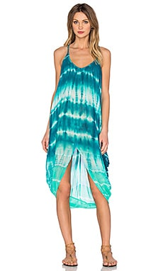 Young, Fabulous & Broke Lynn Dress in Caribe Tide Wash