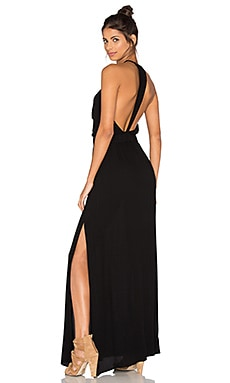 Nala Maxi Dress in Schwarz