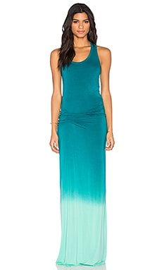 Young, Fabulous & Broke Hamptons Maxi Dress in Caribe Ombre