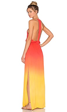 Young, Fabulous & Broke Nala Maxi Dress in Sun Ombre