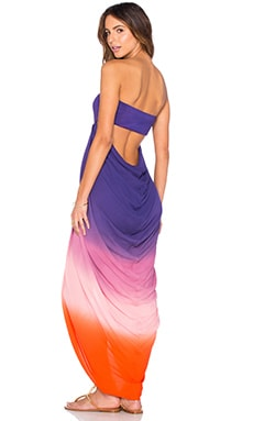 Young, Fabulous & Broke Neve Dress in Purple Ombre
