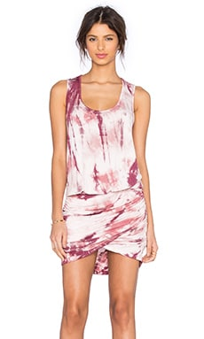 Young, Fabulous & Broke Elise Dress in Mauve Dreamer Wash