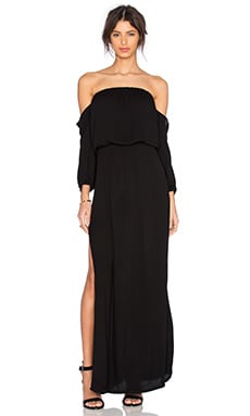 Martha Maxi Dress en Noir