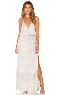 Young, Fabulous & Broke Nala Maxi Dress in Grey Ripple