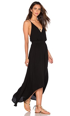 Young, Fabulous & Broke Evie Maxi Dress in Black