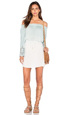 Young, Fabulous & Broke Nova Mini Dress in Seafoam Ombre