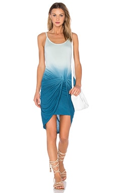 Desirae Dress en Bleu Pacific Ombré