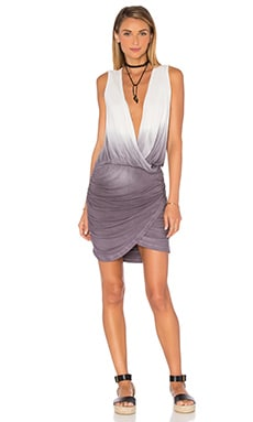 Stacey Mini Dress in Charcoal Ombre