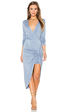 Young, Fabulous & Broke Honey Dress in Blue Dreams