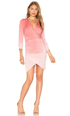Lex Dress en Rose Ombre