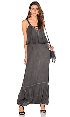Young, Fabulous & Broke Copal Maxi Dress in Charcoal