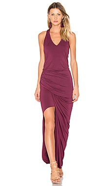 Rena Maxi Dress in Burgundy